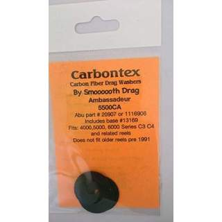 Abu 5500CA 6000C3 5000C3 Smooth Carbontex Drag Washers (O1)