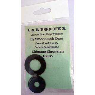 Shimano Chronarch 100D5 Carbontex  Drag  Carbon  Fibre  Washers  for  fishing reels (G11)