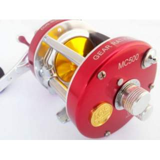 MC500 Baitcast Magnetic reel - RED
