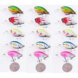 15 Floating bream lures DC6D-F