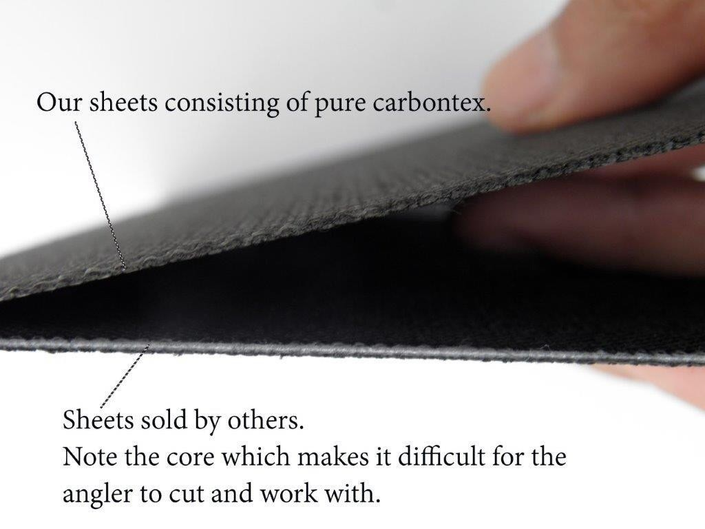our carbon sheet vs competitor